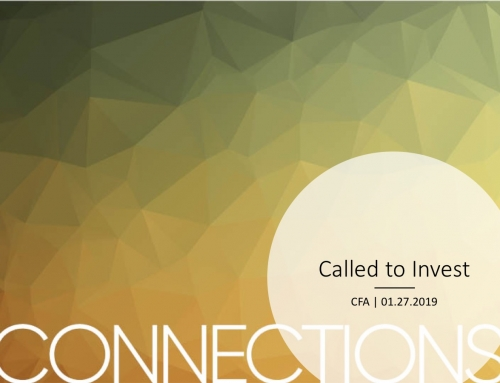 Connections: Called to Invest