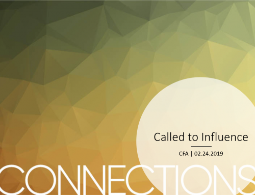 CONNECTIONS: Called to Influence