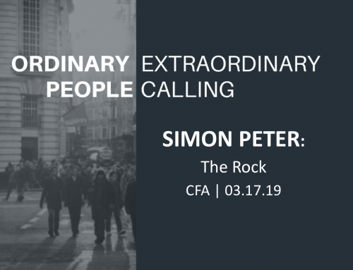 Ordinary People, Extraordinary Calling: Simon Peter-The Rock