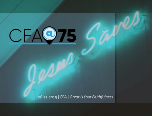 CFA@75- Jesus Saves