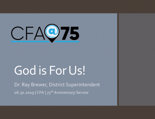 CFA@75- God is For Us! 75th Anniversary Service