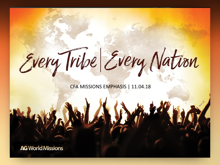 Every Tribe, Every Nation – Columbia First Assembly