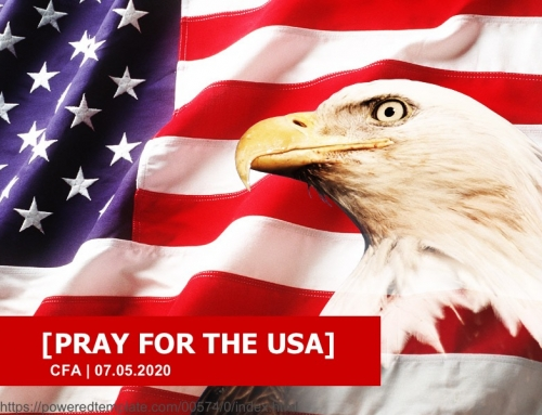 Sunday, July 5: Pray for the USA