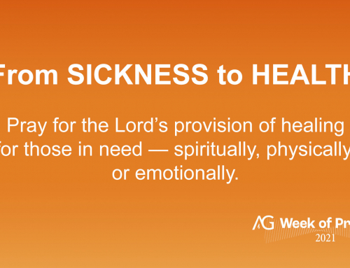 From Sickness to Health & Brokenness to Restoration