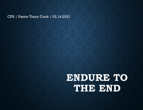 Endure the to End