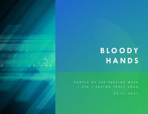 Bloody Hands – Pontius Pilate