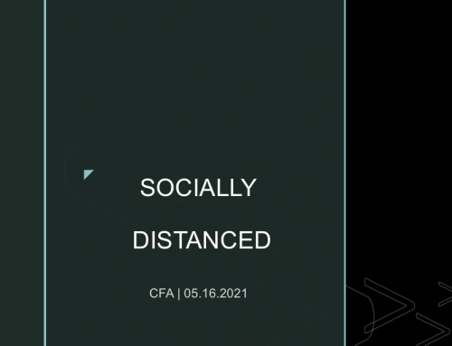 Socially Distanced – Pastor Tracy Cook
