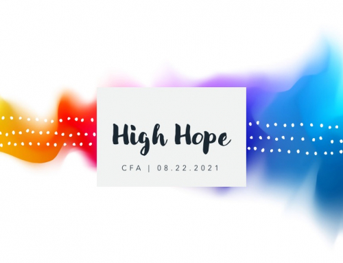 High Hope – Pastor Tracy Cook